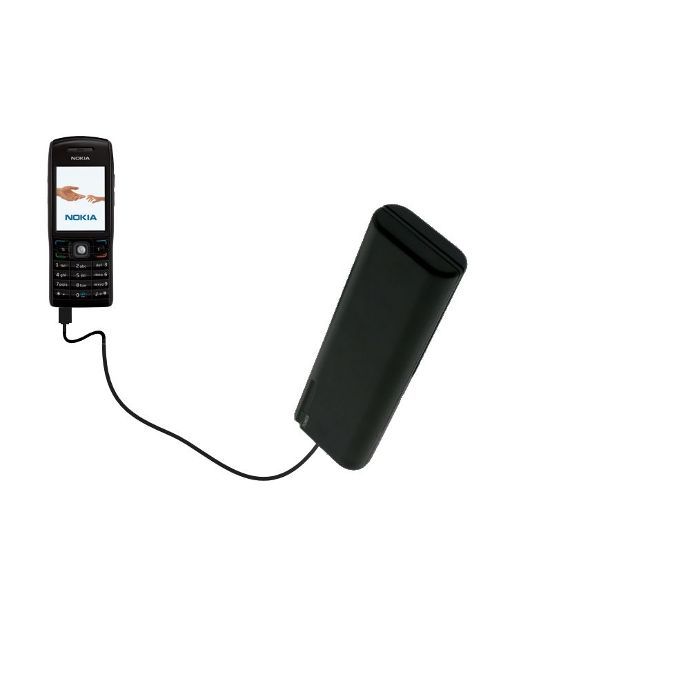 AA Battery Pack Charger compatible with the Nokia E50