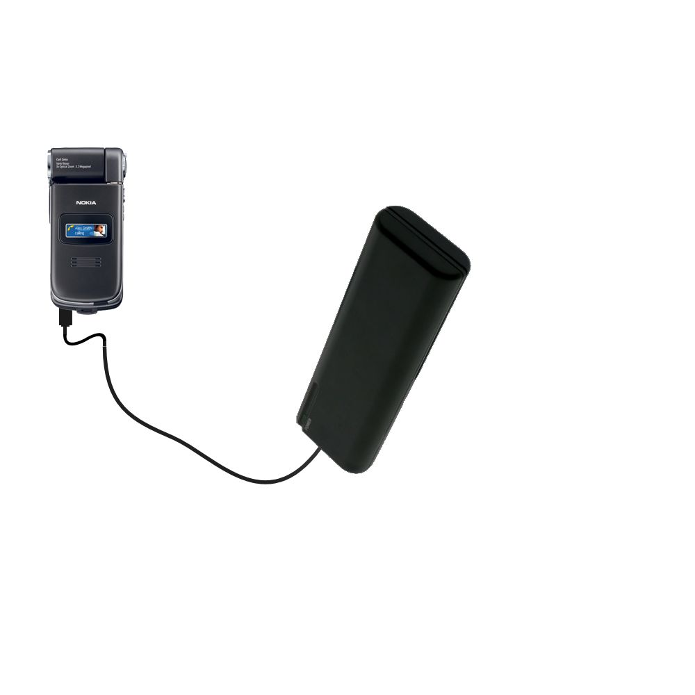 AA Battery Pack Charger compatible with the Nokia N90 N93 N95