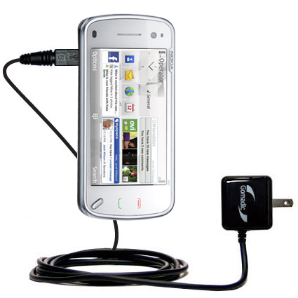 Wall Charger compatible with the Nokia N97 Mini