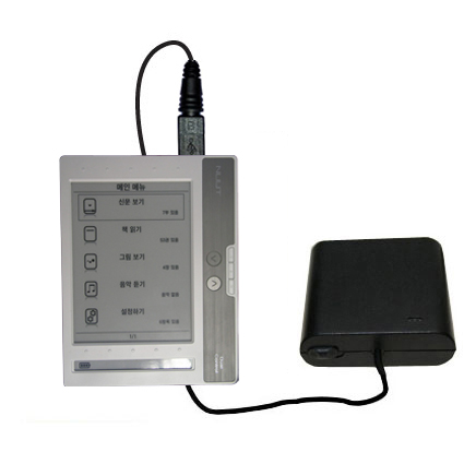 AA Battery Pack Charger compatible with the NUUTbook NUUT2