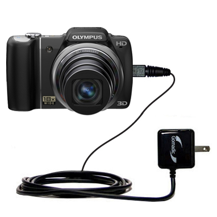 Wall Charger compatible with the Olympus SZ-10