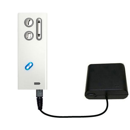 AA Battery Pack Charger compatible with the Oticon Streamer