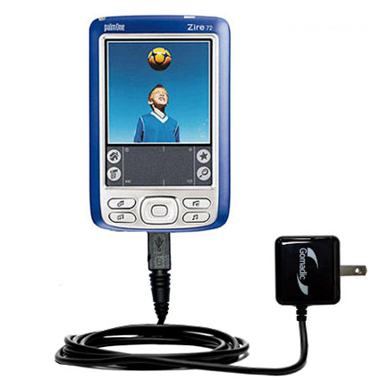 Wall Charger compatible with the Palm palm Zire 72s