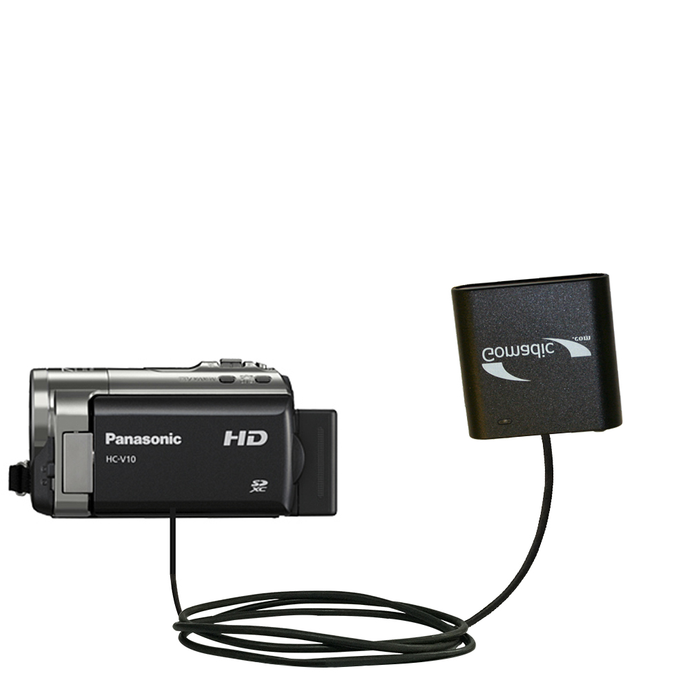 AA Battery Pack Charger compatible with the Panasonic HC-V10