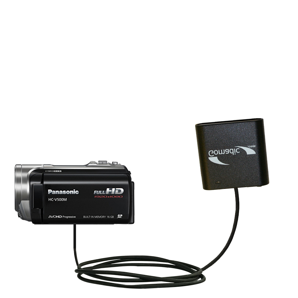 AA Battery Pack Charger compatible with the Panasonic HC-V500