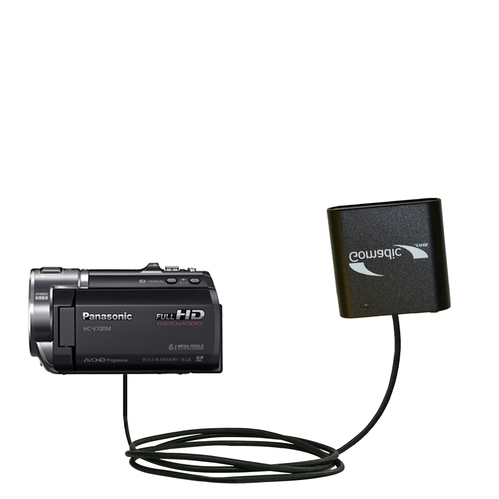 AA Battery Pack Charger compatible with the Panasonic HC-V700