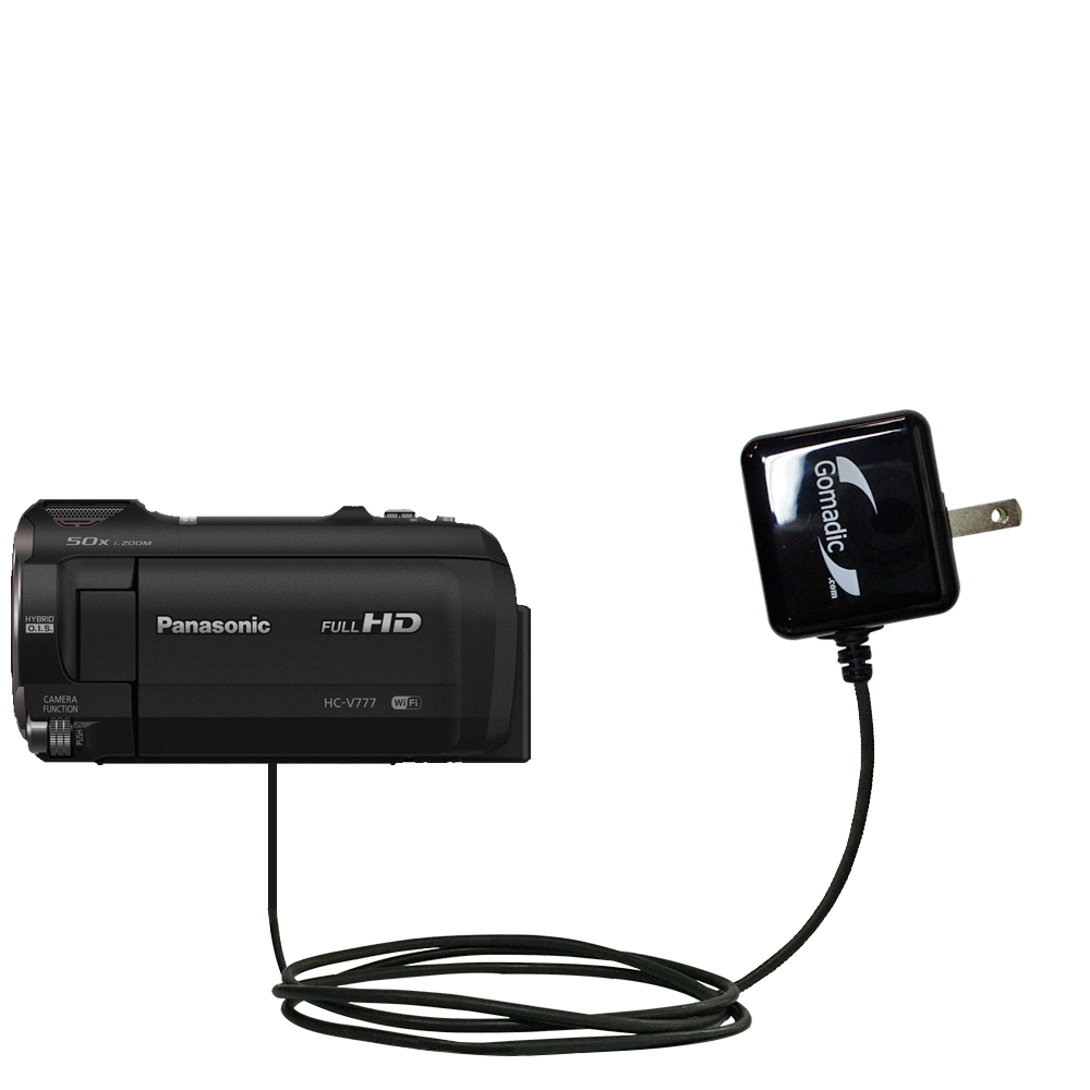 Wall Charger compatible with the Panasonic HC-V770 / HC-V777