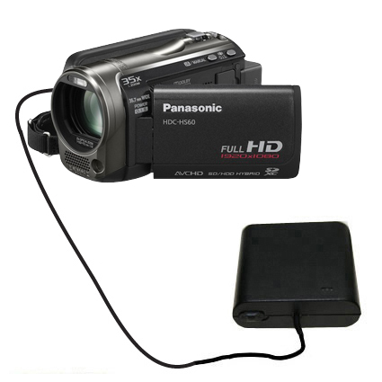 AA Battery Pack Charger compatible with the Panasonic HDC-HS60 Video Camera