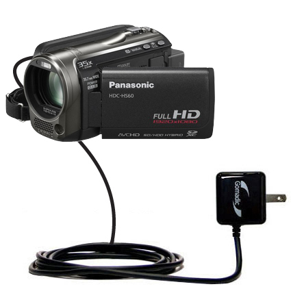 Wall Charger compatible with the Panasonic HDC-HS60 Video Camera