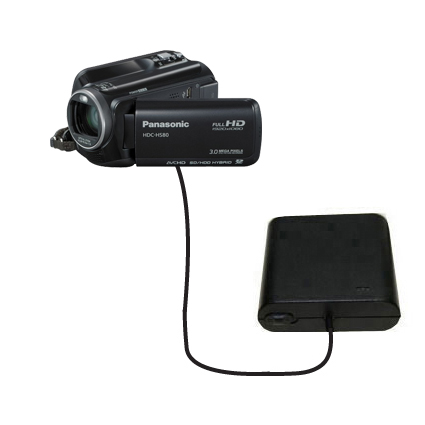 AA Battery Pack Charger compatible with the Panasonic HDC-HS80 Camcorder