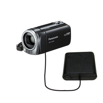 AA Battery Pack Charger compatible with the Panasonic HDC-SD40 Camcorder
