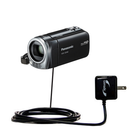 Wall Charger compatible with the Panasonic HDC-SD40 Camcorder