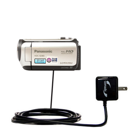 Wall Charger compatible with the Panasonic HDC-SD80 Camcorder