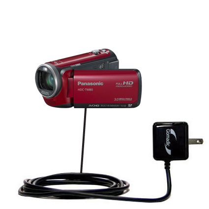 Wall Charger compatible with the Panasonic HDC-TM80 Camcorder