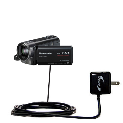Wall Charger compatible with the Panasonic HDC-TM90 Camcorder