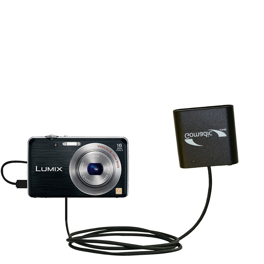 AA Battery Pack Charger compatible with the Panasonic Lumix DMC-FH8K