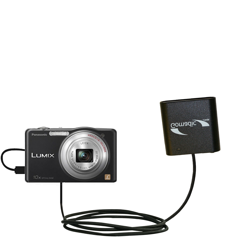 AA Battery Pack Charger compatible with the Panasonic Lumix DMC-SZ1K