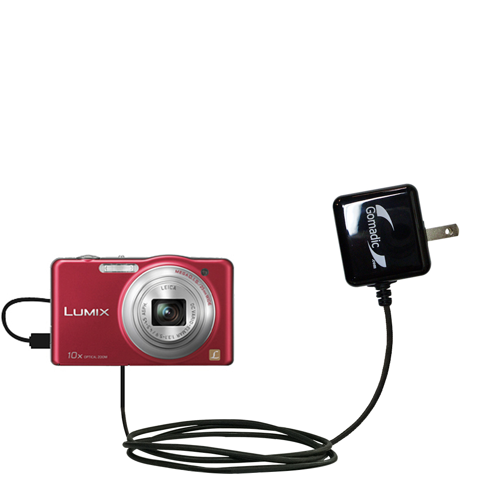 Wall Charger compatible with the Panasonic Lumix DMC-SZ1R