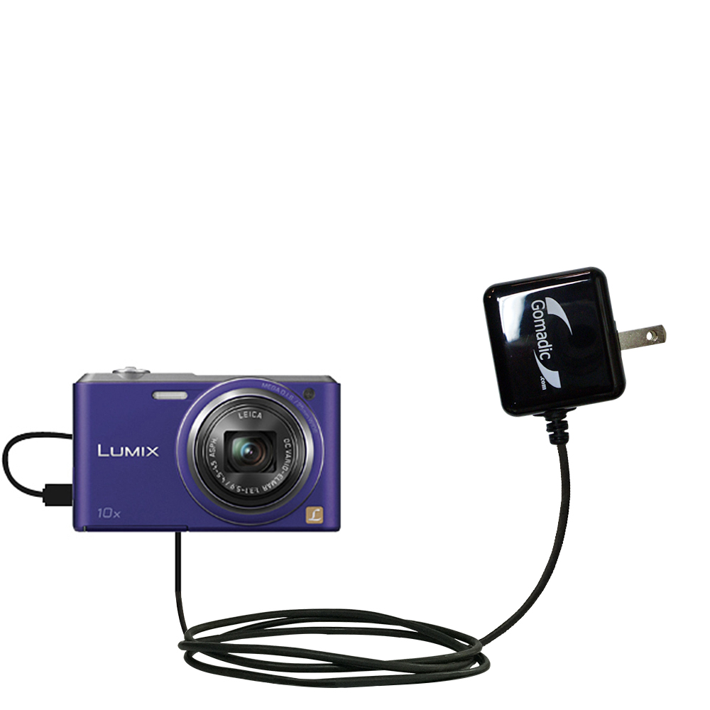 Wall Charger compatible with the Panasonic Lumix DMC-SZ3V