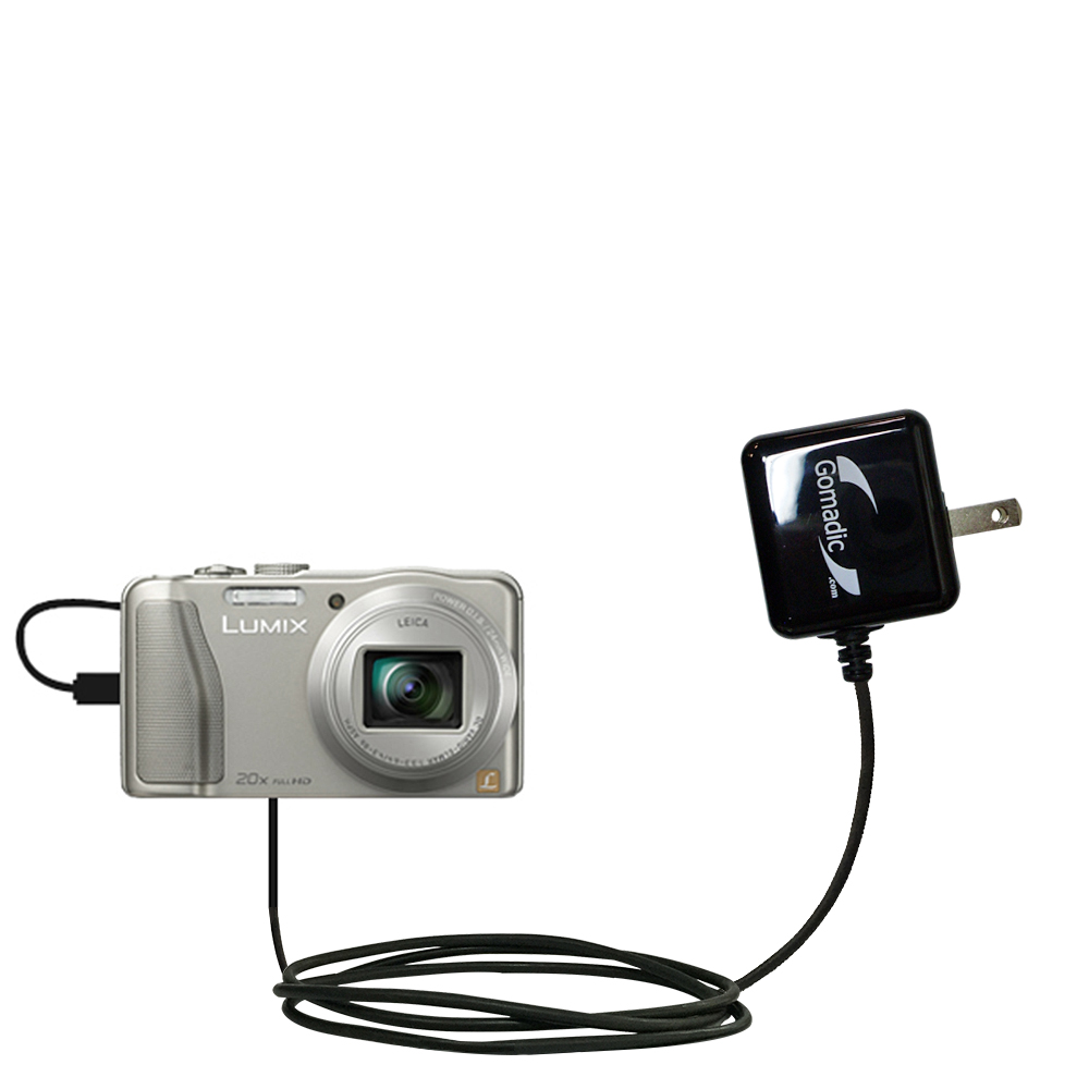 Wall Charger compatible with the Panasonic Lumix DMC-TZ30 / DMC-TZ35