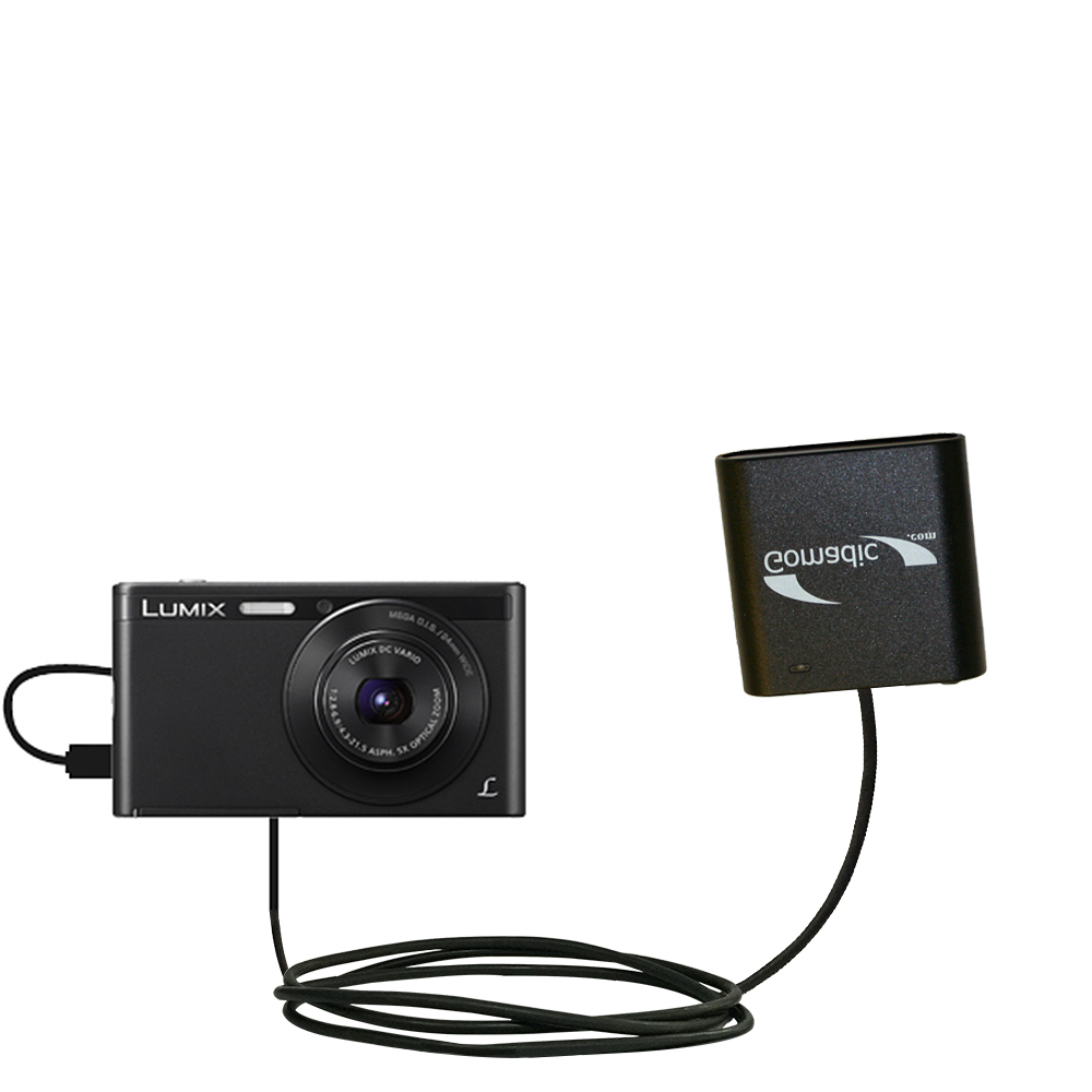 AA Battery Pack Charger compatible with the Panasonic Lumix DMC-XS1K