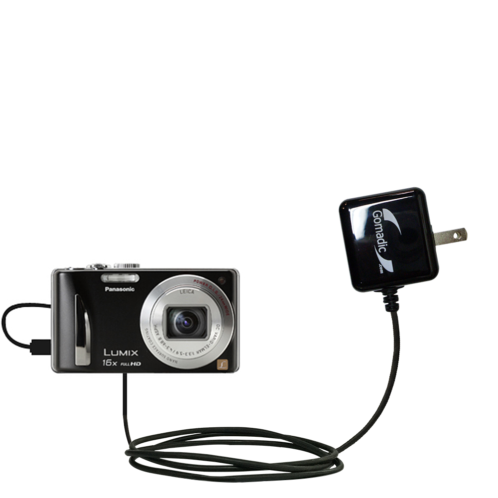 Wall Charger compatible with the Panasonic Lumix DMC-ZS15S