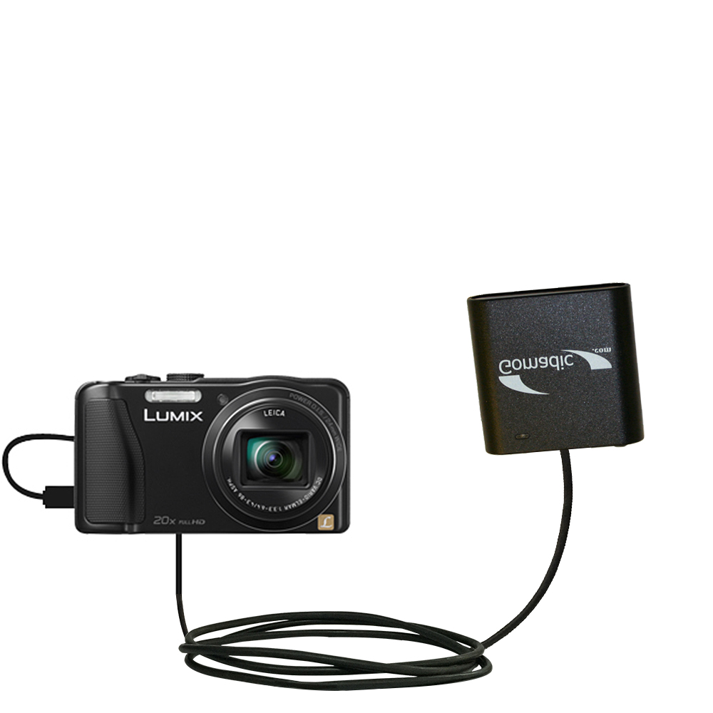 AA Battery Pack Charger compatible with the Panasonic Lumix DMC-ZS25K