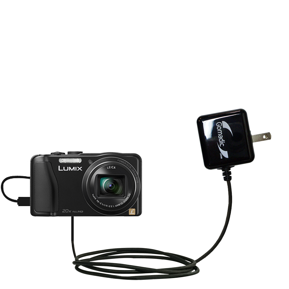 Wall Charger compatible with the Panasonic Lumix DMC-ZS25K