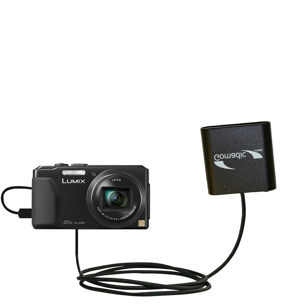 AA Battery Pack Charger compatible with the Panasonic Lumix DMC-ZS30K