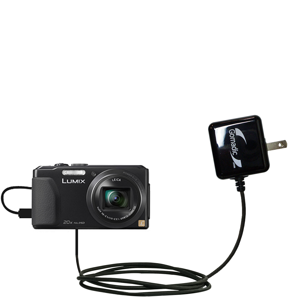 Wall Charger compatible with the Panasonic Lumix DMC-ZS30K