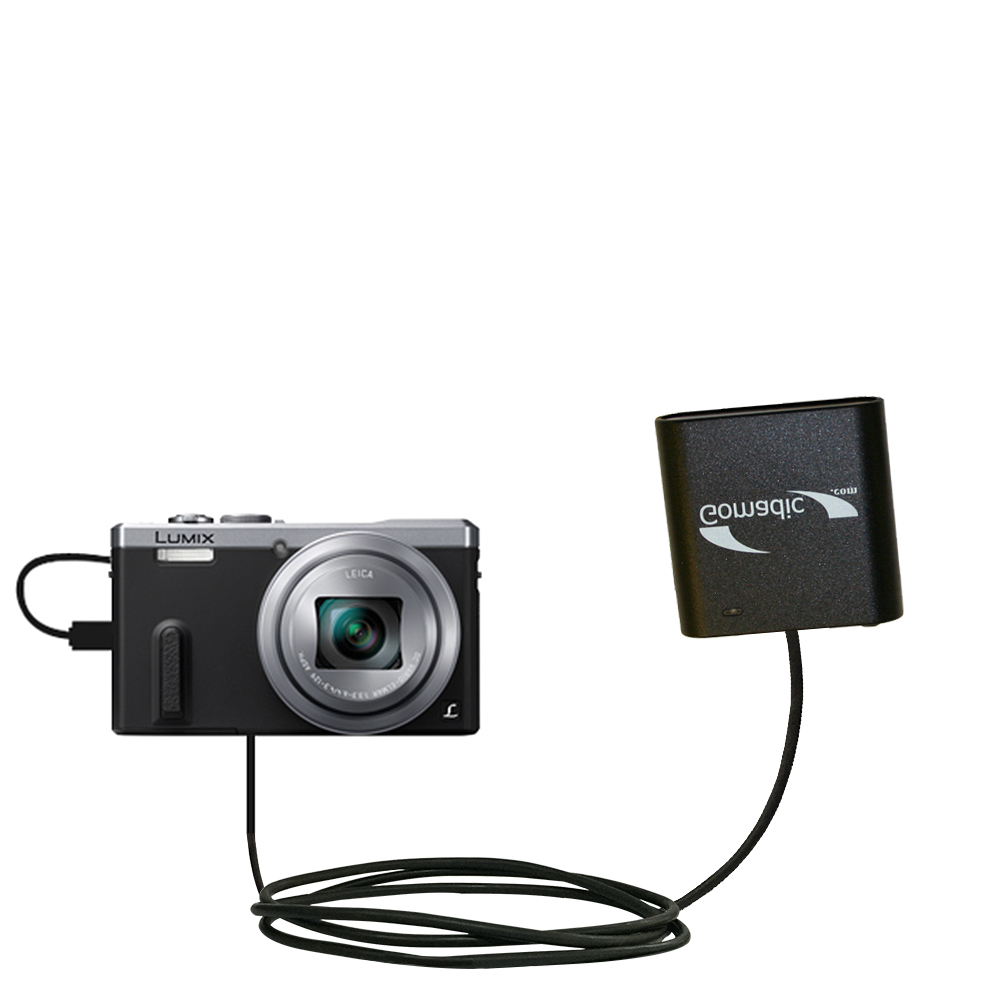 AA Battery Pack Charger compatible with the Panasonic Lumix DMC-ZS40