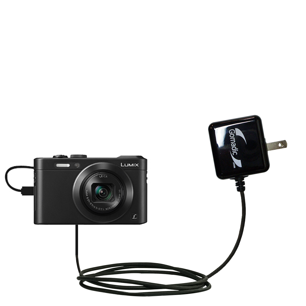Wall Charger compatible with the Panasonic Lumix LF1 / DMC-LF1
