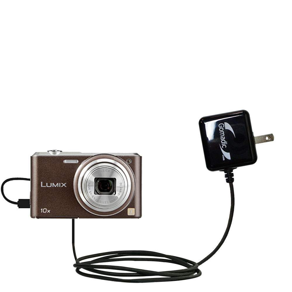 Wall Charger compatible with the Panasonic Lumix SZ3 / DMC-SZ3