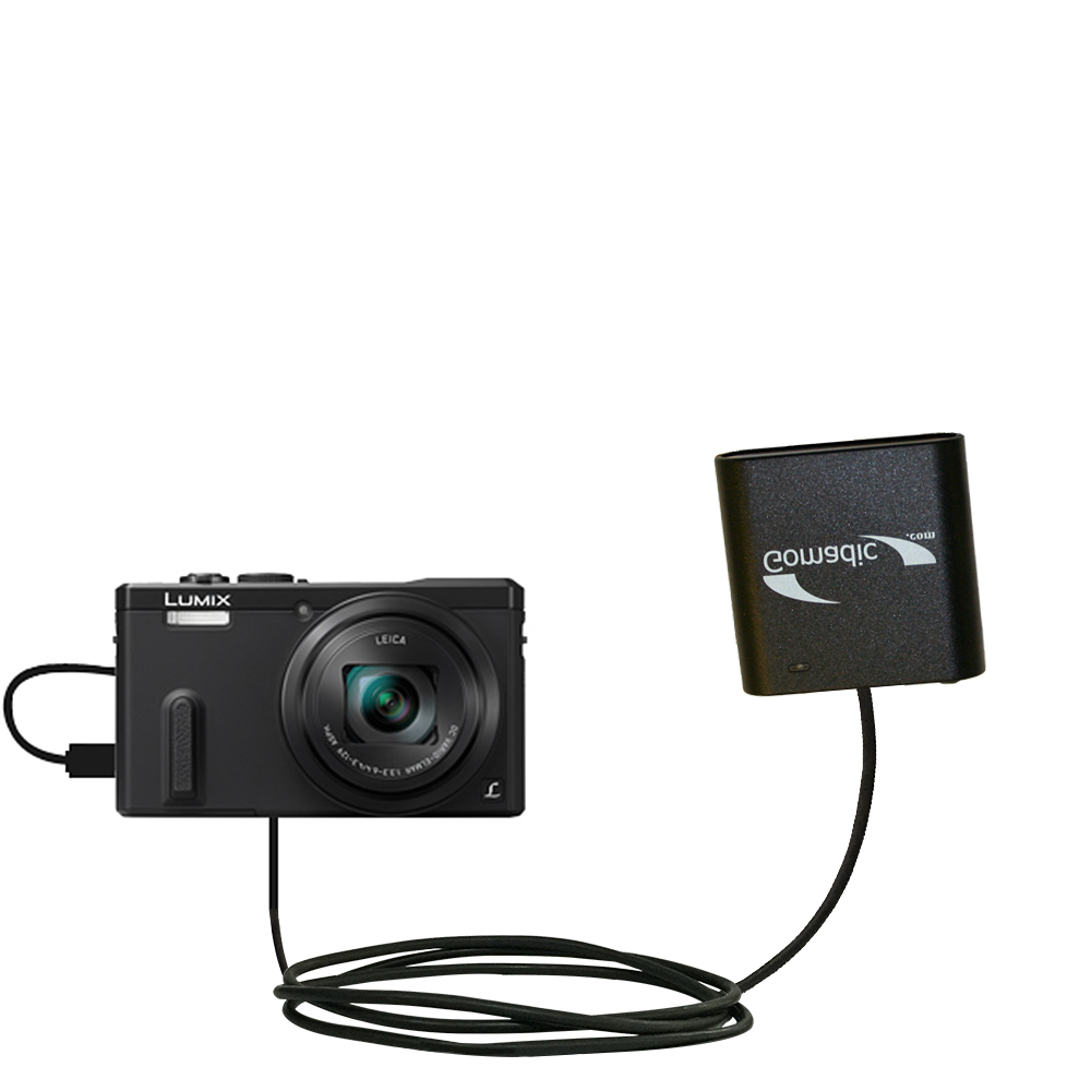 AA Battery Pack Charger compatible with the Panasonic Lumix ZS19 / ZS20