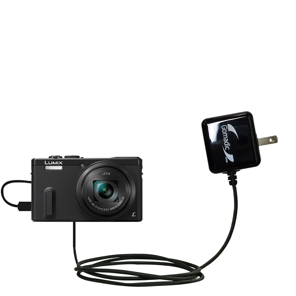 Wall Charger compatible with the Panasonic Lumix ZS19 / ZS20
