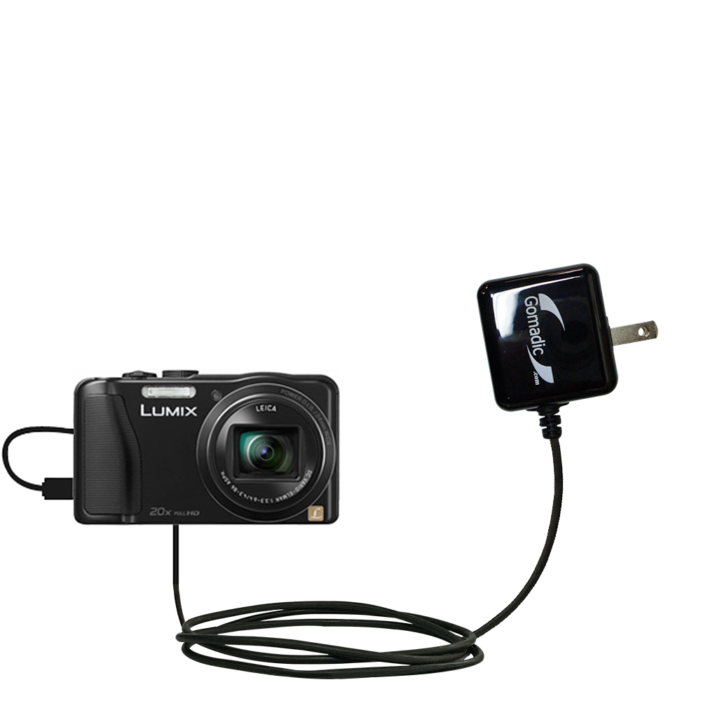 Wall Charger compatible with the Panasonic Lumix ZS25 / ZS30