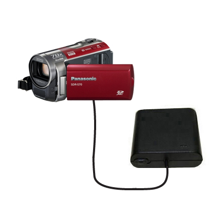 AA Battery Pack Charger compatible with the Panasonic SDR-570 Camcorder