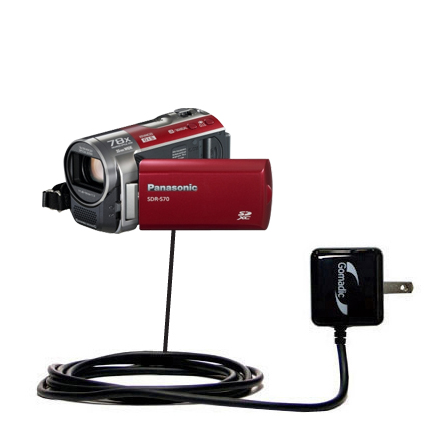 Wall Charger compatible with the Panasonic SDR-570 Camcorder