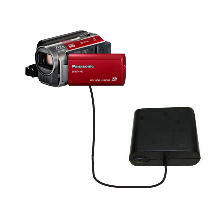 AA Battery Pack Charger compatible with the Panasonic SDR-H100 Camcorder