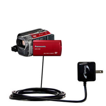 Wall Charger compatible with the Panasonic SDR-H100 Camcorder