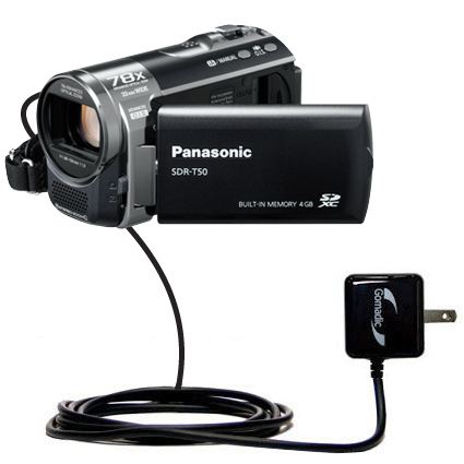 Wall Charger compatible with the Panasonic SDR-T50 Video Camera