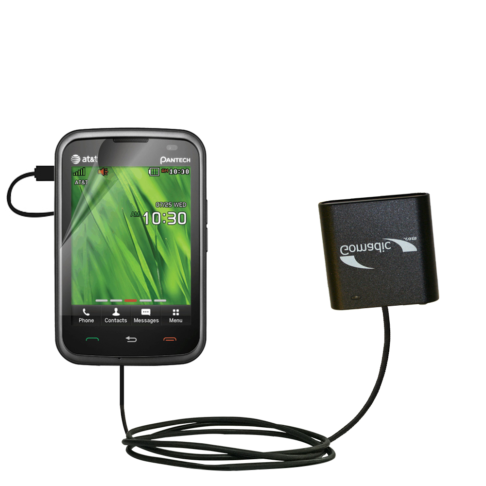 AA Battery Pack Charger compatible with the Pantech Renue