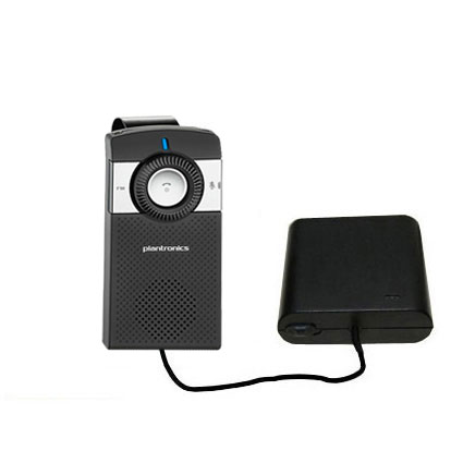 AA Battery Pack Charger compatible with the Plantronics K100 In-Car Speakerphone