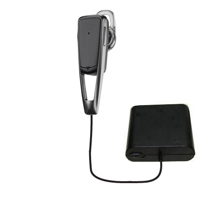 AA Battery Pack Charger compatible with the Plantronics Savor M1100