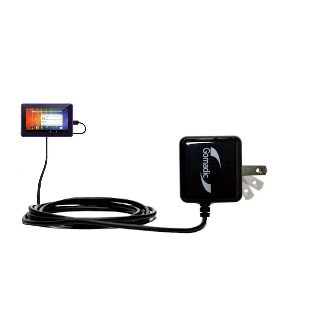 Wall Charger compatible with the Playtime Tabby 7DU - 7 Inch