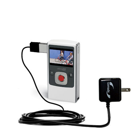 Wall Charger compatible with the Pure Digital Flip Video UltraHD