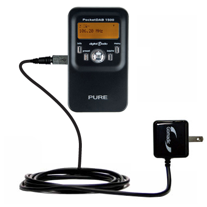 Wall Charger compatible with the PURE PocketDAB 1500