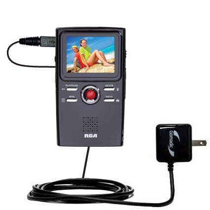 Wall Charger compatible with the RCA EZ2000 Small Wonder HD Camcorder