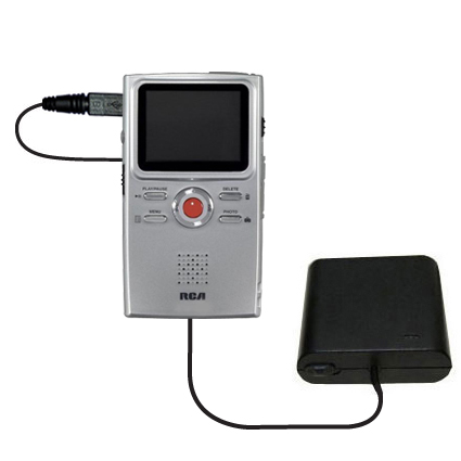 AA Battery Pack Charger compatible with the RCA EZ3000 Small Wonder HD Camcorder