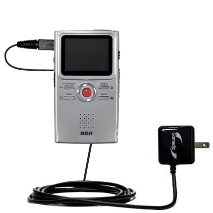 Wall Charger compatible with the RCA EZ3000 Small Wonder HD Camcorder